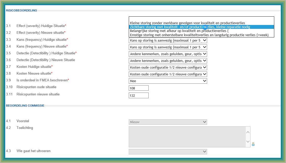 registreren met web formulieren